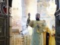 25 июля 2020 г., в неделю 7-ю по Пятидесятнице, епископ Силуан совершил вечернее богослужение в Макарьевском монастыре