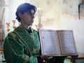 25 июля 2021 г., в неделю 5-ю по Пятидесятнице и день памяти преподобного Михаила Малеина, епископ Силуан совершил литургию в Макарьевском монастыре