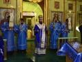 26 октября 2019 г., в неделю 19-ю по Пятидесятнице, епископ Силуан совершил вечернее богослужение в селе Красный Оселок