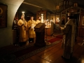 26 декабря 2020 г., в неделю святых праотец, епископ Силуан совершил вечернее богослужение в Макарьевском монастыре