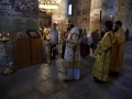 27 июля 2019 г., в день памяти равноапостольного князя Владимира, епископ Силуан совершил вечернее богослужение в Макарьевском монастыре