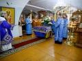 27 августа 2020 г., в праздник Успения Божией Матери, епископ Силуан совершил вечернее богослужение в Макарьевском монастыре