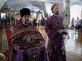 27 сентября 2020 г., в неделю 16-ю по Пятидесятнице и праздник Воздвижения Креста Господня, епископ Силуан совершил литургию в Макарьевском монастыре