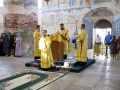 28 июля 2021 г., в день памяти равноапостольного князя Владимира, епископ Силуан совершил литургию в Макарьевском монастыре