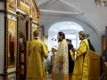 29 ноября 2020 г., в неделю 25-ю по Пятидесятнице, епископ Силуан совершил литургию в Макарьевском монастыре