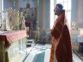 3 мая 2020 г., в неделю 3-ю по Пасхе, епископ Силуан совершил литургию в Макарьевском монастыре