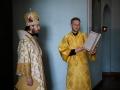 4 октября 2020 г., в неделю 17-ю по Пятидесятнице, епископ Силуан совершил литургию в Макарьевском монастыре