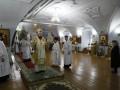 5 января 2020 г., в неделю 29-ю по Пятидесятнице, пред Рождеством Христовым, епископ Силуан совершил литургию в Макарьевском монастыре