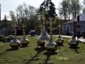 5 мая 2019 г. в Первомайске освятили купола на новый храм