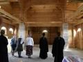 5 мая 2019 г. епископ Силуан осмотрел строящийся храм в городе Первомайске