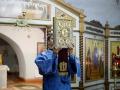 5 декабря 2020 г., в неделю 26-ю по Пятидесятнице, епископ Силуан совершил вечернее богослужение в Макарьевском монастыре