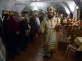 7 января 2019 г. епископ Силуан совершил всенощное бдение в честь Рождества Христова в Макарьевском монастыре