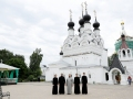 8-9 июля 2020 г. паломники из Лысковской епархии посетили город Муром в день памяти благоверных князей Петра и Февронии
