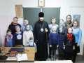 8 марта 2020 г. епископ Силуан встретился с учениками воскресной школы в городе Лыскове