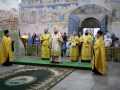 7 августа 2021 г., в неделю 7-ю по Пятидесятнице, епископ Силуан совершил вечернее богослужение в Макарьевском монастыре