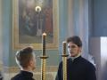 9 мая 2020 г., в неделю 4-ю по Пасхе, епископ Силуан совершил вечернее богослужение в Макарьевском монастыре