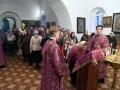 2 апреля 2016 г., в третью неделю Великого поста, Крестопоклонную, епископ Силуан совершил всенощное бдение в Боголюбском храме села Болтинка
