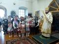 2 июля 2016 г. епископ Лысковский и Лукояновский Силуан совершил всеношное бдение в Троицком храме села Шарапово Шатковского района