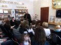 """30 марта 2016 г. в библиотеке поселка Пильна состоялось заседание православного клуба """"Мы вместе""""."""