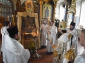 30 июня 2018 г., в неделю 5-ю по Пятидесятнице, епископ Силуан совершил вечернее богослужение в Троицком храме села Архангельское
