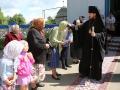 15 июля 2014 г., в неделю всех святых, епископ Силуан совершил Божественную литургию в Троицком храме с. Архангельское.