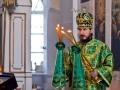 13 апреля 2014 г., в праздник Входа Господня в Иерусалим, епископ Лысковский и Лукояновский Силуан  совершил Божественную литургию в храме в честь Живоначальной Троицы с. Байково Починковского района.