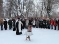 10 февраля 2017 г. в Большом Болдино помолились о упокоении поэта Александра Сергеевича Пушкина
