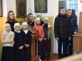 26 ноября 2017 г., в неделю 25-ю по Пятидесятнице и день памяти святителя Иоанна Златоуста, епископ Силуан совершил литургию и диаконскую хиротонию в Успенском храме села Бортсурманы