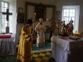 28 июня 2014 г. епископ Лысковский и Лукояновский Силуан совершил всенощное бдение в храме в честь Рождества Христова в селе Быковка Воротынского района.
