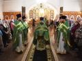 8 октября 2018 г., в день памяти преподобного Сергия Радонежского, епископ Силуан совершил литургию в Сергиевском храме поселка Бутурлино