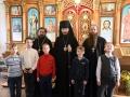 8 октября 2017 г. епископ Силуан встретился с учениками воскресной школы в поселке Бутурлино