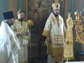 6 января 2018 г., в навечерие Рождества Христова, епископ Силуан совершил праздничную вечерню в Макарьевском монастыре