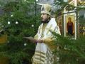 7 января 2018 г., в праздник Рождества Христова, епископ Силуан совершил праздничное богослужение в Макарьевском монастыре