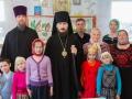 С учениками воскресной школы г. Лысково.