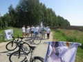 15 — 16 июля через Шатковское благочиние проследовал епархиальный велопробег в честь преподобного Макария Желтоводского