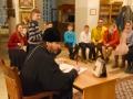 14 апреля 2018 г. епископ Силуан встретился с молодежью в поселке Шатки