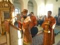 14 апреля 2018 г., в неделю Антипасхи, епископ Силуан совершил вечернее богослужение в Троицком храме поселка Шатки