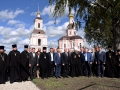 16 сентября 2017 г., в день села Хирино в Предтеченском храме была совершена литургия архиерейским чином