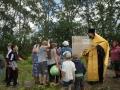 12 июля 2017 . состоялось освящение поклонного креста в селе Шутилово Первомайского района