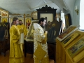 11 июня 2018 г. по случаю возвращения украденных 2 мая икон епископ Силуан совершил благодарственный молебен в Макарьевском монастыре