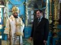22 января 2017 г., в неделю 31-ю по Пятидесятнице, по Богоявлении, епископ Силуан совершил Литургию в Покровском храме села Каменка
