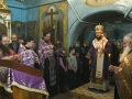 17 марта 2018 г., в неделю 4-ю Великого поста, епископ Силуан совершил вечернее богослужение в Казанском храме города Лысково