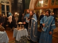 3 ноября 2018 г., в неделю 23-ю по Пятидесятнице и празднование в честь Казанской иконы Божией Матери, епископ Силуан совершил вечернее богослужение в поселке Макарьево