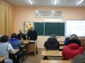 27 февраля 2018 г. клирик Княгининского благочиния принял участие в родительском собрании в школе №1 города Княгинино
