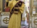 30 декабря 2018 г., в неделю святых праотец, епископ Силуан совершил литургию в Успенском храме города Княгинино