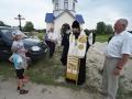 1 июля 2018 г. епископ Силуан посетил строящийся храм в селе Костянка