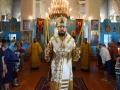 12 июля 2018 г. епископ Силуан совершил Божественную литургию в престольный праздник в Петропавловском храме села Криуши Воротынского района