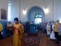 12 июля 2017 г., в день памяти первоверховных апостолов Петра и Павла, епископ Силуан совершил литургию в Петропавловском храме села Криуши
