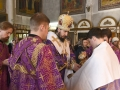 18 марта 2018 г., в неделю 4-ю Великого поста, преподобного Иоанна Лествичника, епископ Силуан совершил литургию в Георгиевском храме города Лысково