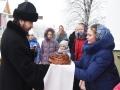 19 декабря 2018 г., в день памяти святителя Николая Чудотворца, епископ Силуан совершил литургию в селе Просек